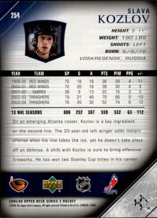 2005-06-Upper-Deck-Hockey-Card-Pick-251-487 thumbnail 9
