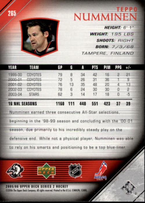 2005-06-Upper-Deck-Hockey-Card-Pick-251-487 thumbnail 31