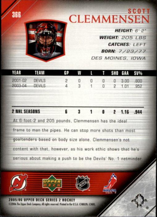 2005-06-Upper-Deck-Hockey-Card-Pick-251-487 thumbnail 233
