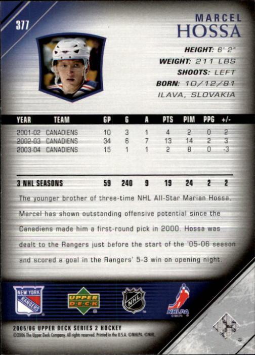 2005-06-Upper-Deck-Hockey-Card-Pick-251-487 thumbnail 255
