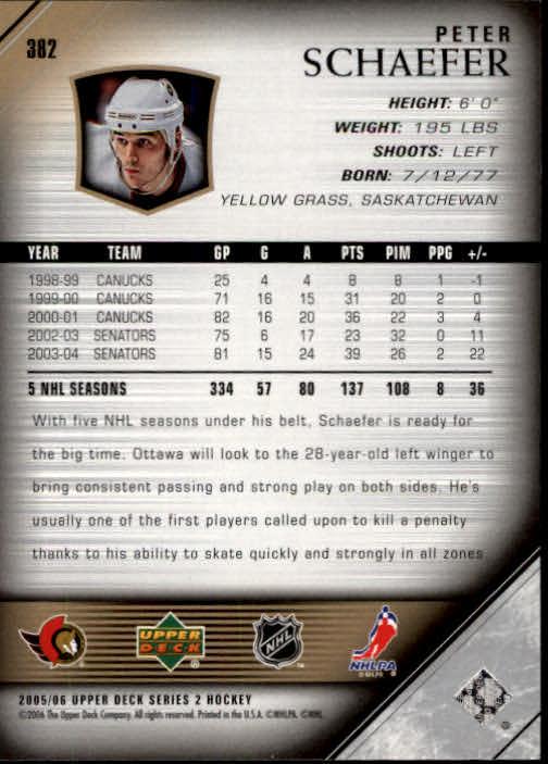 2005-06-Upper-Deck-Hockey-Card-Pick-251-487 thumbnail 265
