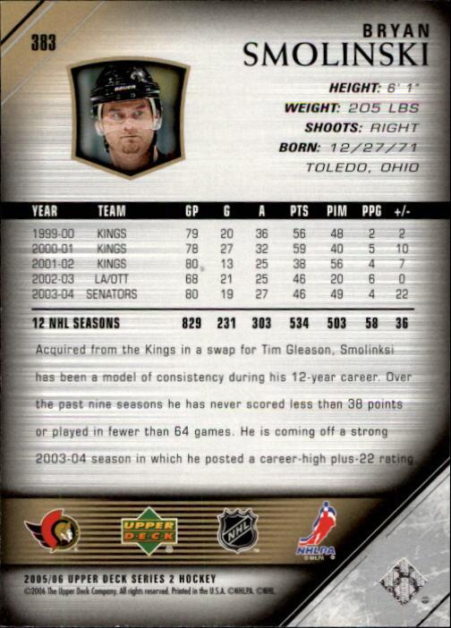 2005-06-Upper-Deck-Hockey-Card-Pick-251-487 thumbnail 267