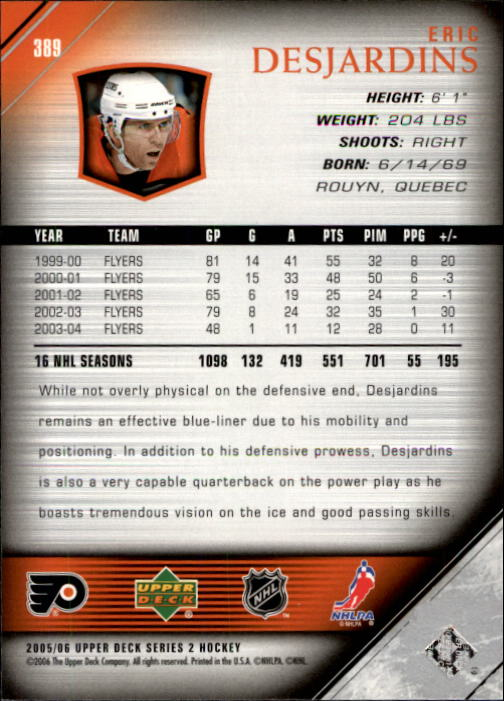 2005-06-Upper-Deck-Hockey-Card-Pick-251-487 thumbnail 279