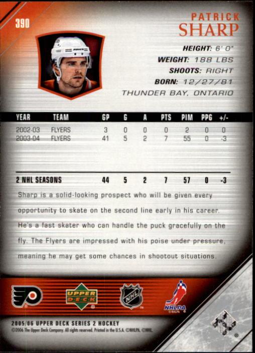 2005-06-Upper-Deck-Hockey-Card-Pick-251-487 thumbnail 281