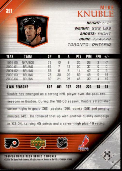 2005-06-Upper-Deck-Hockey-Card-Pick-251-487 thumbnail 283