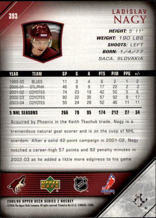 2005-06-Upper-Deck-Hockey-Card-Pick-251-487 thumbnail 287