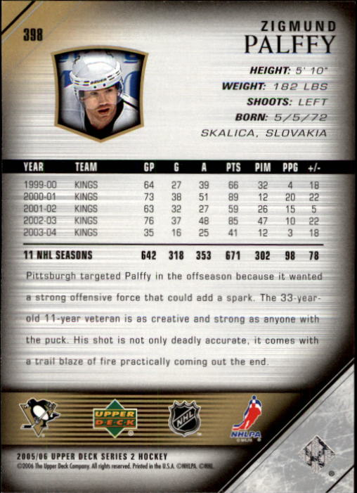 2005-06-Upper-Deck-Hockey-Card-Pick-251-487 thumbnail 297