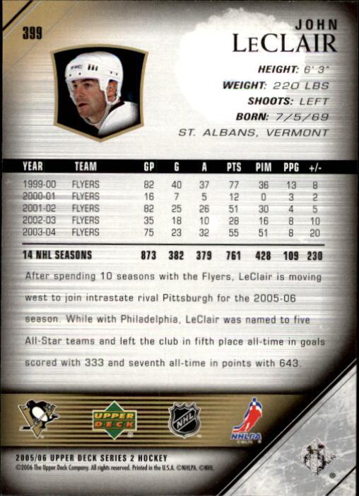 2005-06-Upper-Deck-Hockey-Card-Pick-251-487 thumbnail 299