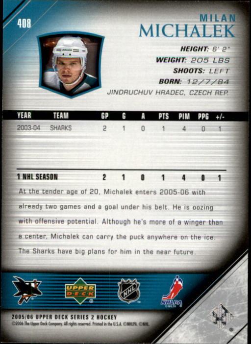 2005-06-Upper-Deck-Hockey-Card-Pick-251-487 thumbnail 317