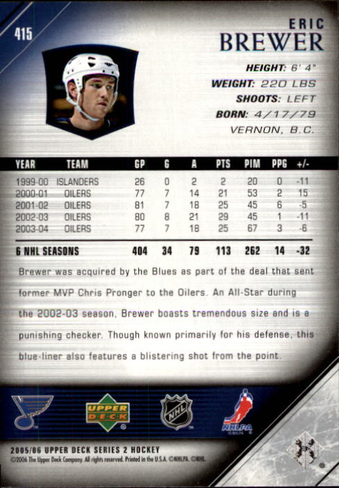 2005-06-Upper-Deck-Hockey-Card-Pick-251-487 thumbnail 331
