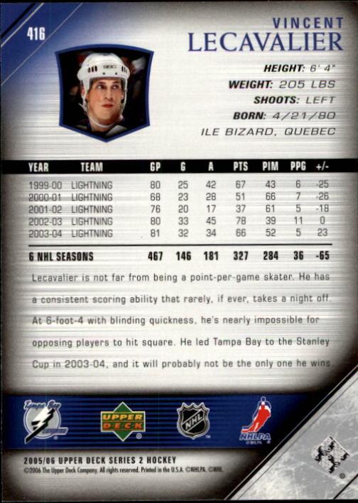 2005-06-Upper-Deck-Hockey-Card-Pick-251-487 thumbnail 333