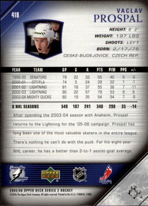 2005-06-Upper-Deck-Hockey-Card-Pick-251-487 thumbnail 337