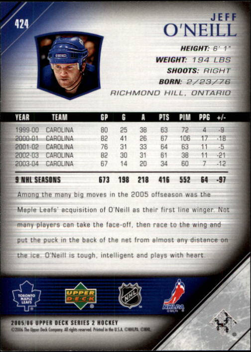 2005-06-Upper-Deck-Hockey-Card-Pick-251-487 thumbnail 349