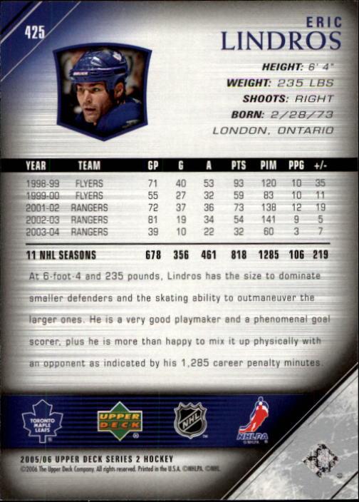 2005-06-Upper-Deck-Hockey-Card-Pick-251-487 thumbnail 351