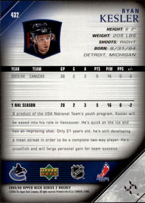 2005-06-Upper-Deck-Hockey-Card-Pick-251-487 thumbnail 365