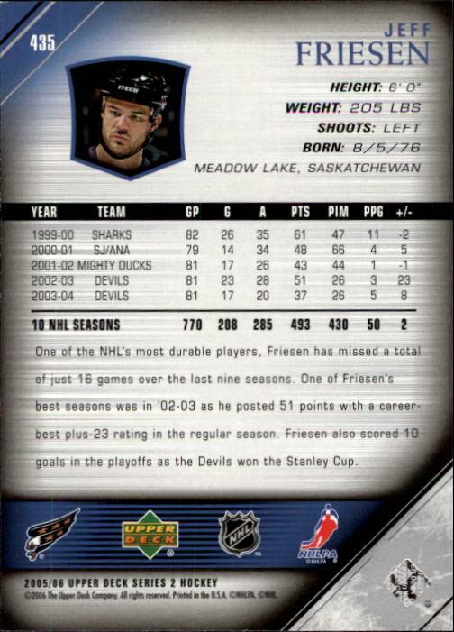 2005-06-Upper-Deck-Hockey-Card-Pick-251-487 thumbnail 371