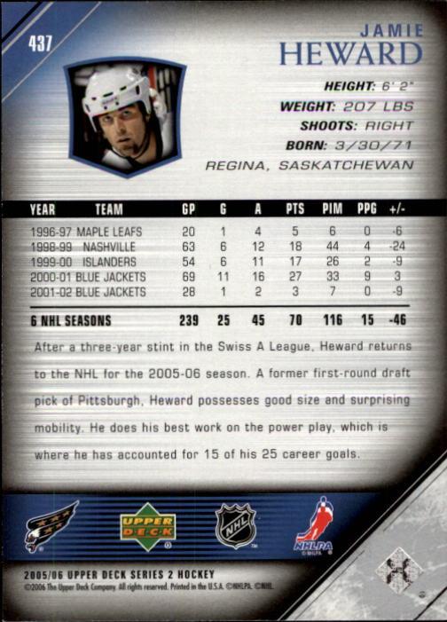 2005-06-Upper-Deck-Hockey-Card-Pick-251-487 thumbnail 375