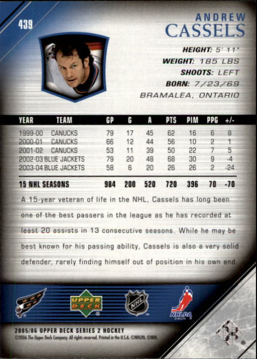 2005-06-Upper-Deck-Hockey-Card-Pick-251-487 thumbnail 379