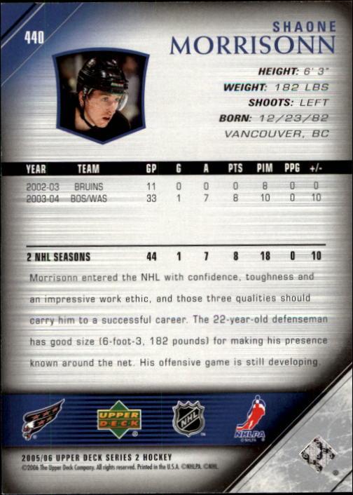 2005-06-Upper-Deck-Hockey-Card-Pick-251-487 thumbnail 381