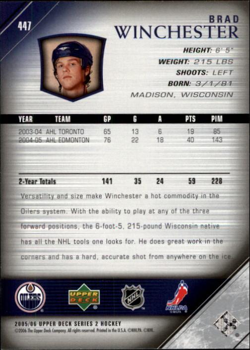 2005-06-Upper-Deck-Hockey-Card-Pick-251-487 thumbnail 391