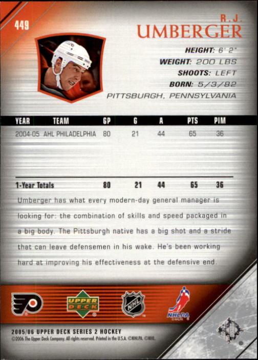 2005-06-Upper-Deck-Hockey-Card-Pick-251-487 thumbnail 393