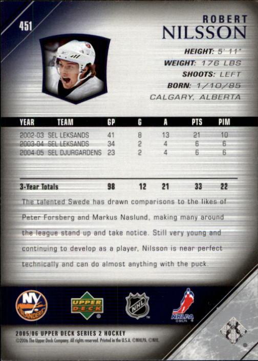 2005-06-Upper-Deck-Hockey-Card-Pick-251-487 thumbnail 397