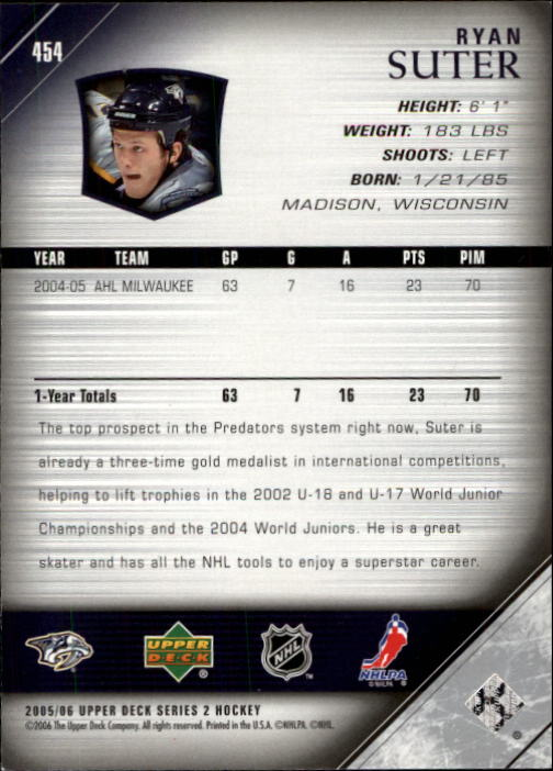 2005-06-Upper-Deck-Hockey-Card-Pick-251-487 thumbnail 401
