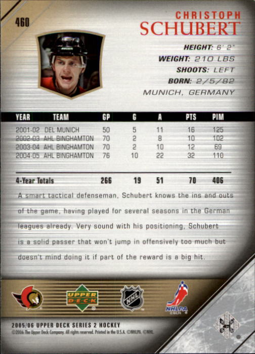 2005-06-Upper-Deck-Hockey-Card-Pick-251-487 thumbnail 410