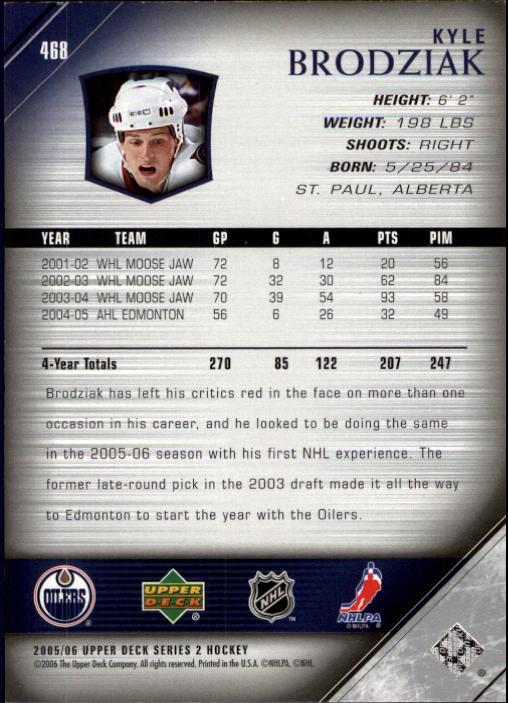 2005-06-Upper-Deck-Hockey-Card-Pick-251-487 thumbnail 424