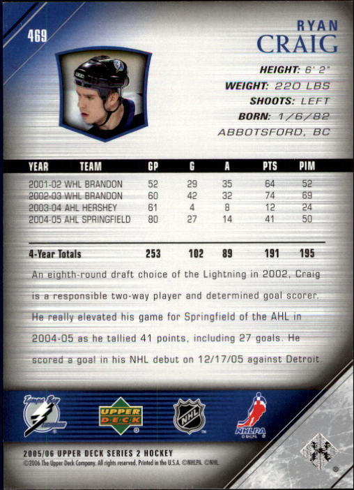 2005-06-Upper-Deck-Hockey-Card-Pick-251-487 thumbnail 426