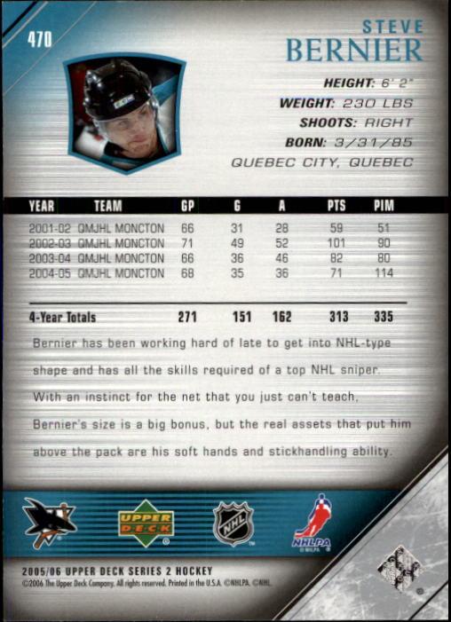 2005-06-Upper-Deck-Hockey-Card-Pick-251-487 thumbnail 428