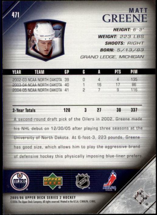 2005-06-Upper-Deck-Hockey-Card-Pick-251-487 thumbnail 430