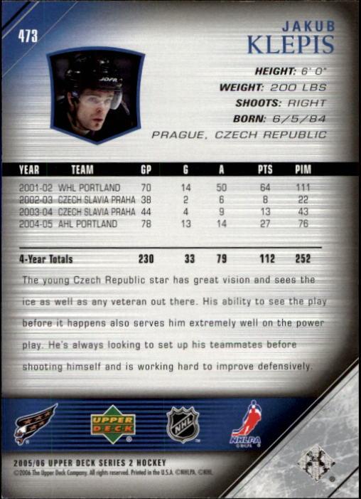 2005-06-Upper-Deck-Hockey-Card-Pick-251-487 thumbnail 434