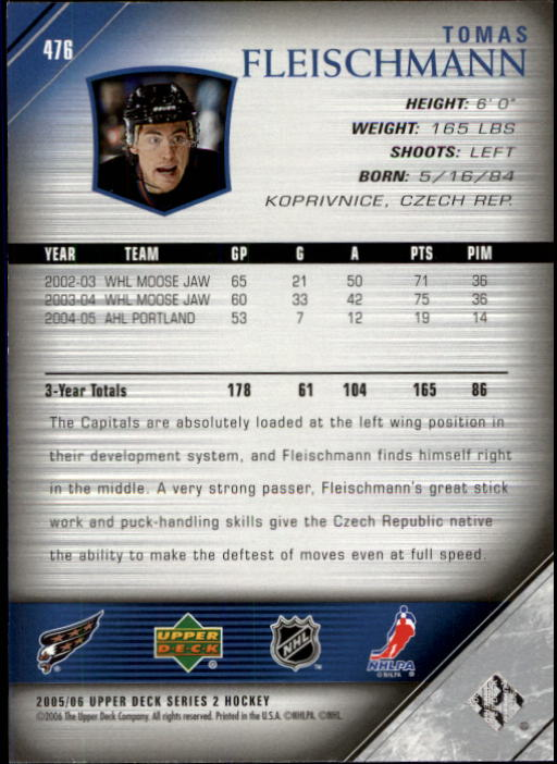 2005-06-Upper-Deck-Hockey-Card-Pick-251-487 thumbnail 440