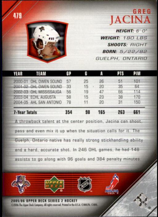2005-06-Upper-Deck-Hockey-Card-Pick-251-487 thumbnail 446