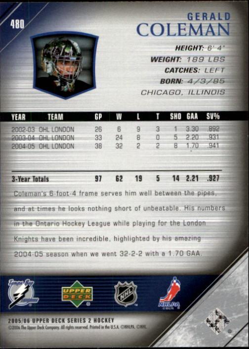 2005-06-Upper-Deck-Hockey-Card-Pick-251-487 thumbnail 448