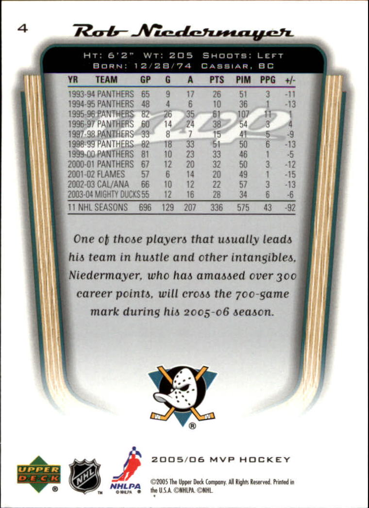 2005-06-Upper-Deck-MVP-Hockey-Card-Pick-1-250 thumbnail 9
