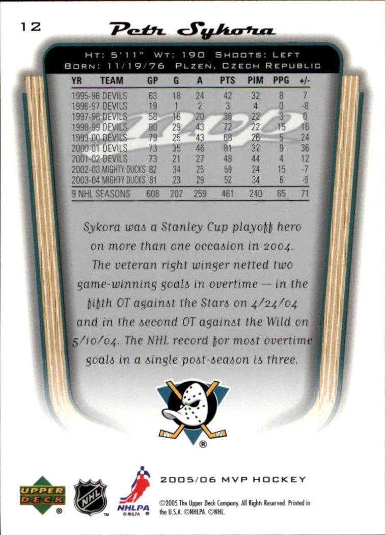 2005-06-Upper-Deck-MVP-Hockey-Card-Pick-1-250 thumbnail 24