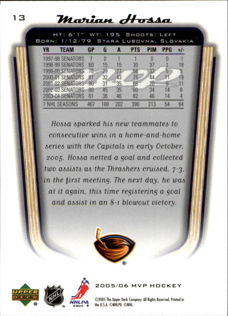 2005-06-Upper-Deck-MVP-Hockey-Card-Pick-1-250 thumbnail 26