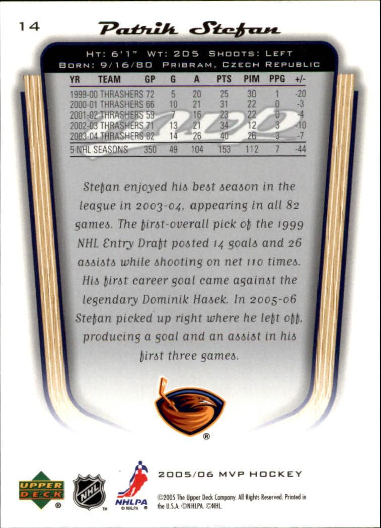 2005-06-Upper-Deck-MVP-Hockey-Card-Pick-1-250 thumbnail 28