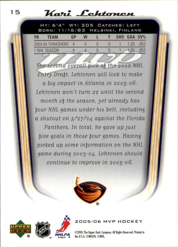 2005-06-Upper-Deck-MVP-Hockey-Card-Pick-1-250 thumbnail 30
