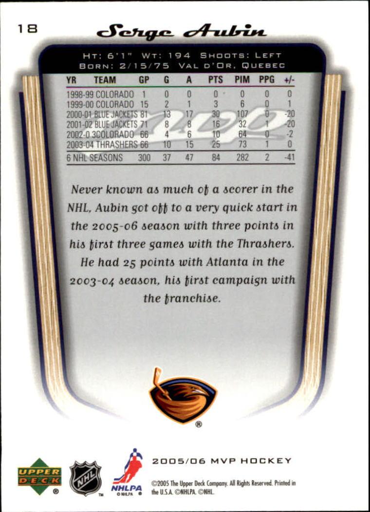 2005-06-Upper-Deck-MVP-Hockey-Card-Pick-1-250 thumbnail 36