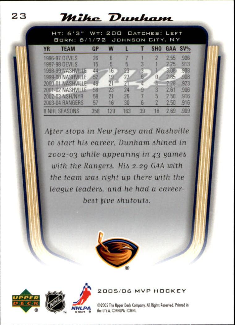2005-06-Upper-Deck-MVP-Hockey-Card-Pick-1-250 thumbnail 44
