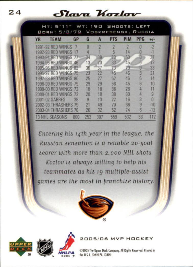 2005-06-Upper-Deck-MVP-Hockey-Card-Pick-1-250 thumbnail 46
