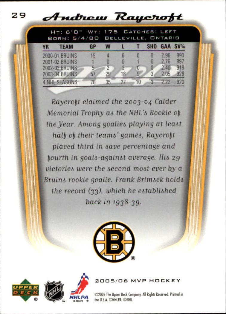 2005-06-Upper-Deck-MVP-Hockey-Card-Pick-1-250 thumbnail 54