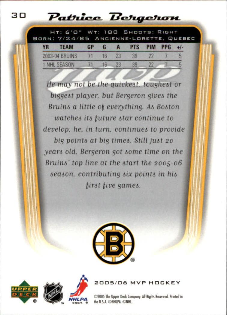 2005-06-Upper-Deck-MVP-Hockey-Card-Pick-1-250 thumbnail 56