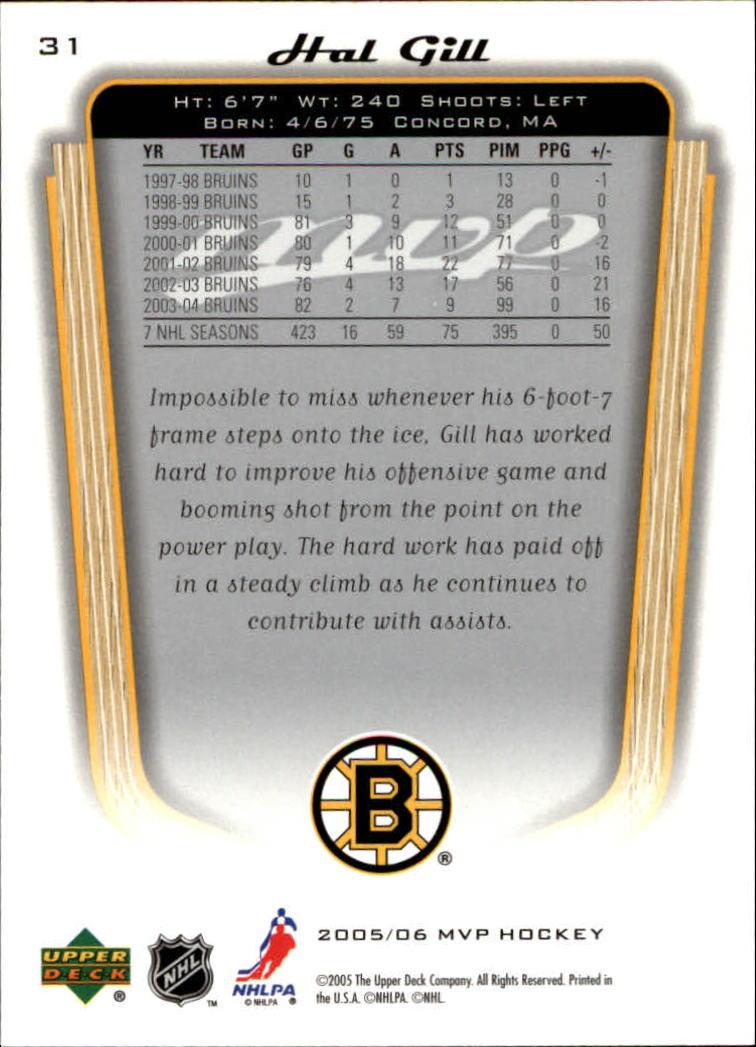 2005-06-Upper-Deck-MVP-Hockey-Card-Pick-1-250 thumbnail 58