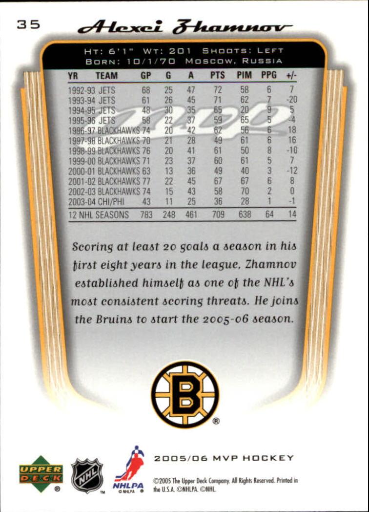 2005-06-Upper-Deck-MVP-Hockey-Card-Pick-1-250 thumbnail 66