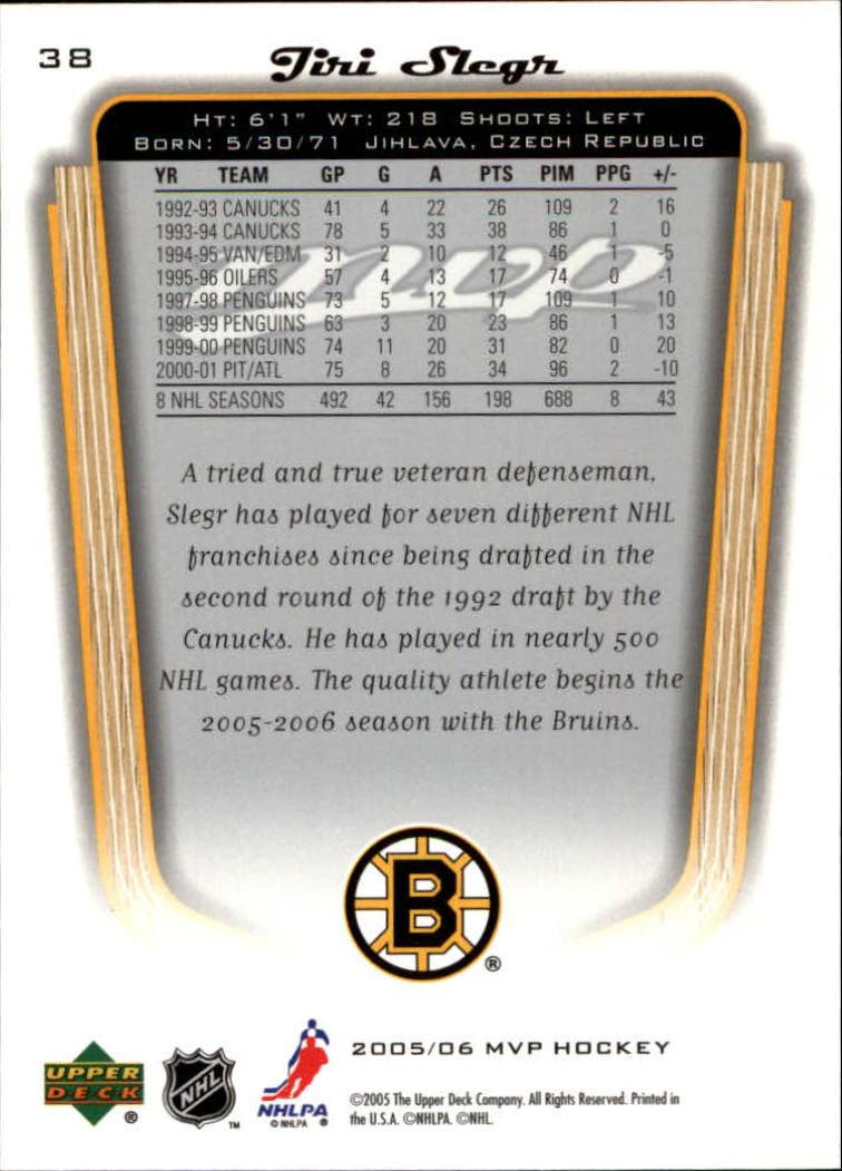 2005-06-Upper-Deck-MVP-Hockey-Card-Pick-1-250 thumbnail 72