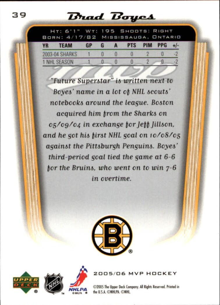 2005-06-Upper-Deck-MVP-Hockey-Card-Pick-1-250 thumbnail 74